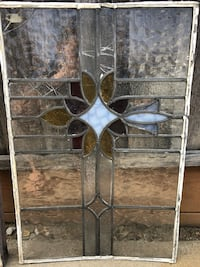 Antique / Vintage / Shabby chic stained glass window San Jose, 95124