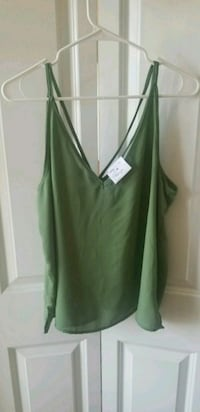 Women's Green Top Dover, 19901