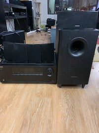 Onkyo 5.1 surround sound system