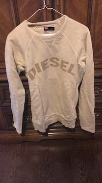 Women's Size Small Diesel Sweater. Cream Colour. Price is Negotiable .