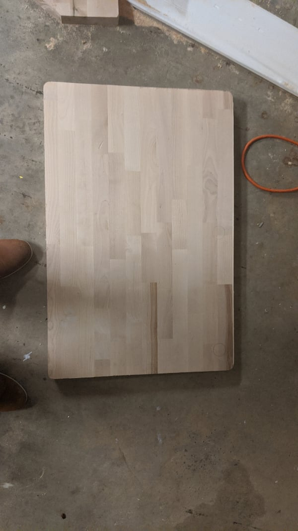 Various sizes of Butcher block remnants - Priced individually c9fbd6d6-dfd5-4a51-9428-93be69cecf19