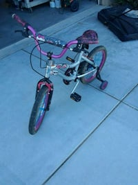 "Monster High 18"" wheels girls bicycle."