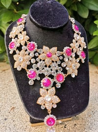 Indian bridal necklace