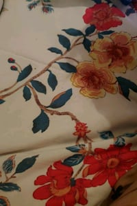 white, red, and blue floral textile Jurupa Valley, 91752