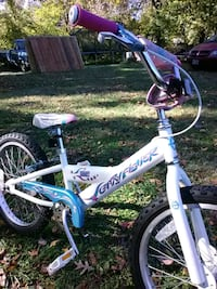 toddler's white and purple bicycle Richmond, 23225