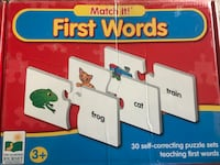 Match It! First words - ages 3+ Arlington, 22203