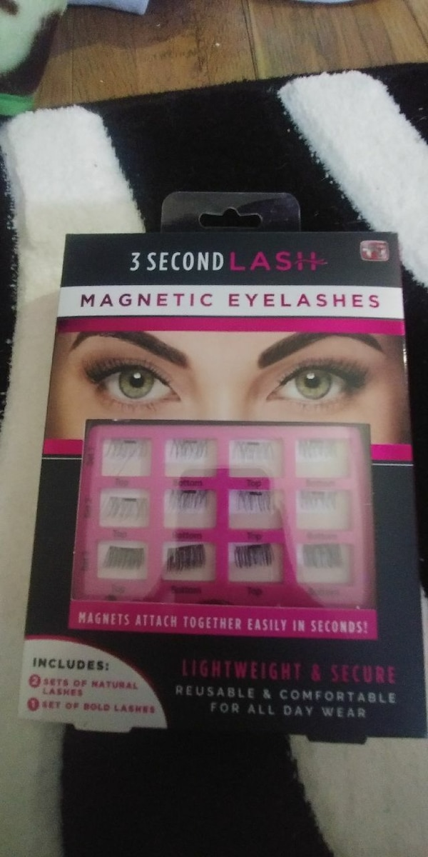 Used 3 Second Lash Magnetic Eyelashes Box For Sale In Surrey Letgo