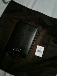 Kate spade black leather personal organizer Mississauga, L5M 5T9