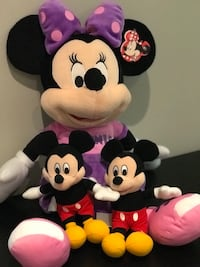 Minnie Mouse and Two Mickey Mouse Pals  Oakville, L6L
