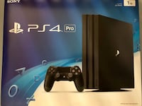 Playstation 4 Pro With Controller And Original Accessories LOCAL PICKUP Alexandria, 22310