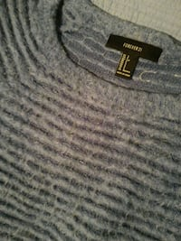 Forever 21 SP blue sweater Toronto, M9A