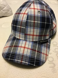 black, white, and red plaid cap Calgary, T2Z 4N8