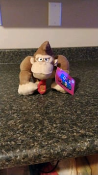 Donkey Kong stuffed animal Cambridge, N1S 4Z3