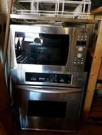 stainless steel and black induction range oven and Barrie, L4N 2X7