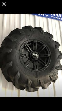 "28"" mega meyham tires and 12"" wheels Perry Hall, 21128"