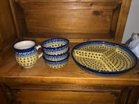 Polish Pottery Set Dumfries, 22025