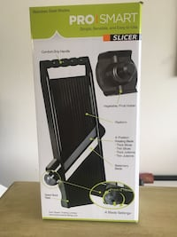 Pro Smart Slicer NEW in box never used includes Scissors, Peeler, Shredder. Retail for $20 Henderson, 89012