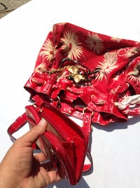 Red and white floral juicy couture Stockton, 95207