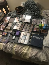 Yugioh cards hold Collection
