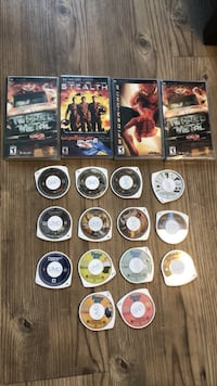 PSP games and videos (used) Piscataway, 08854