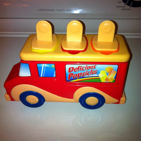 TRUCK POPSICLE MOLD