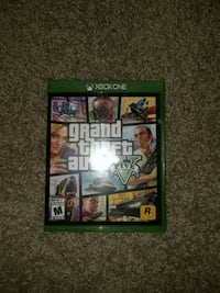 Xbox One Grand Theft Auto Five game case Calgary, T3M 0R7