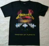 CAMISETA METALLICA - MASTER OF PUPPETS. THUNDER.