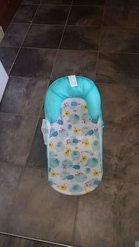 baby's blue and white bather 3110 km