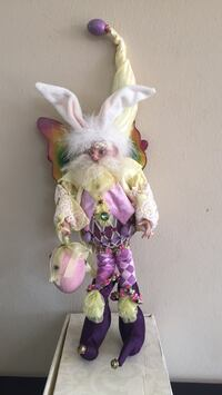Mark Roberts Easter Egg Fairy   w/box  [TL_HIDDEN]  if 2500. ltd ed. w/ registration and cert of authenticity San Mateo, 94402