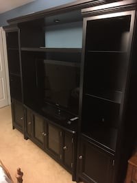 Black wooden Entertainment Center  Naperville, 60565