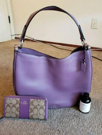Authentic COACH handbag and wallet Hayward, 94544