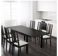 IKEA large table two leafs *NO CHaIRS* Edmonton