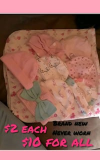 baby's pink and white floral blanket Lynwood, 90262