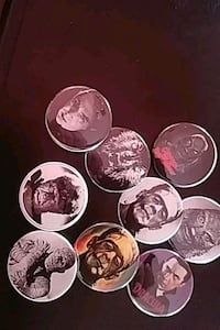Buttons Old Skool Monsters 1/3quarter inch size Los Angeles, 90032