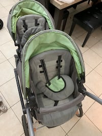 baby's green and gray stroller Hallandale Beach, 33009