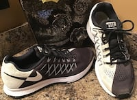 Nike black, white, & gray running shoes Calgary, T2J 1V6