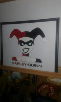 Harley-Quinn stained glass art  Gatineau, J8Z 1T7