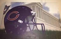 "Custom Chicago Bears ""Charles Tillman"" autographed canvas photo Hammond, 46320"