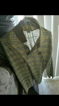 green,black, and white Burberry collared shirt Phoenix, 85032