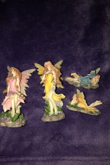 4 FAIRIES FROM GREEN EARTH FOR 15$!!