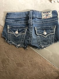 blue Miss Me denim short shorts Edmonton, T5Z 0C6