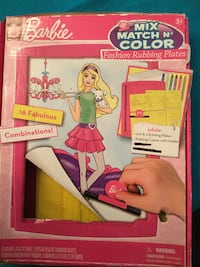 Barbie fashion plates Toronto, M9A 4L9