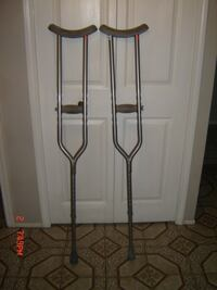 Invacare Heavy Duty Bariatric Crutches #550 WT.. Cap Invacare Heavy Duty Bariatric Crutches #550 WT. Cap  ROCHESTER