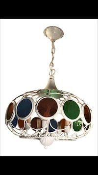 silver-colored and green gemstone pendant necklace Eastchester, 10709