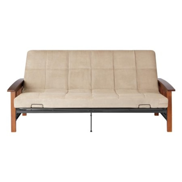 Wood Arm Futon