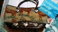 Hearts and Horses purse  Parkersburg, 26101