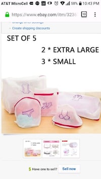 Laundry Bags, LEICESTERCN Durable Thick Dual Mesh