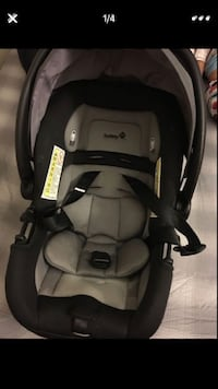 baby's black and gray car seat carrier Perris, 92571