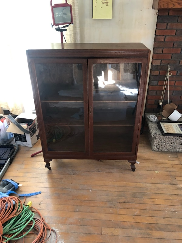 Antique Cherry Bookshelf