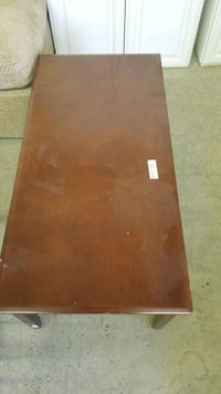 rectangular brown wooden table Anchorage